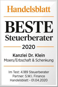Dr. Thomas Klein, Steuerberater aus Moers