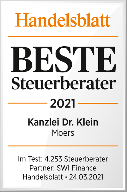 Dr. Thomas Klein, Steuerberater aus Moers