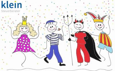 Kostümparties in Karnevalswoche immer steuerbegünstigt?
