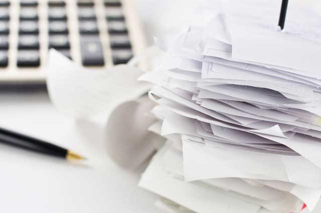 Belege für die Einkommensteuererklärung